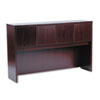 BSXBL2183NN Laminate Hutch With Four Doors, 60w x 14-5/8d x 37-1/8h, Mahogany BSX BL2183NN
