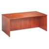 BSXBW2101HH BW Veneer Series Rectangular Desk Shell, 72w x 36w x 29h, Bourbon Cherry BSX BW2101HH