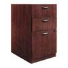BSXBW2162NN BW Veneer Series Box/Box/File Pedestal File, 15-5/8w x 22d x 27-3/4h, Mahogany BSX BW2162NN