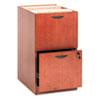 BSXBW2163HH BW Veneer Series File/File Pedestal File, 15-5/8 x 22 x 27-3/4, Bourbon Cherry BSX BW2163HH