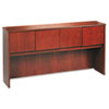 basyx BW Veneer Series Hutch with Wood Doors