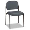 BSXVL606VA19 VL606 Stacking Armless Guest Chair, Charcoal Gray BSX VL606VA19