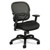 BSXVL712MM10 VL712 Mid-Back Swivel/Tilt Work Chair, Black Mesh BSX VL712MM10