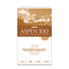 CAS054924 ASPEN 100 Office Paper, 92 Brightness, 20lb, 8-1/2 x 14, White, 5000/Carton CAS 054924