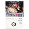 CASMP2204IY FIREWORX Colored Paper, 20lb, 8-1/2 x 14, Flashing Ivory, 500 Sheets/Ream CAS MP2204IY