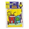 CKC5207 Kraft Artist Smock, Fits Kids Ages 3-8, Vinyl, Bright Colors CKC 5207