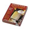 CLI00010 Traditional Polypropylene Sheet Protector, Heavyweight, 11 x 8 1/2, 50/BX CLI 00010