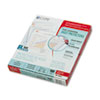 CLI62027 Standard Weight Polypropylene Sheet Protector, Clear, 11 x 8 1/2, 100/BX CLI 62027
