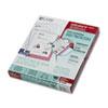 CLI62028 Heavyweight Polypropylene Sheet Protector, Non-Glare, 11 x 8 1/2, 100/BX CLI 62028