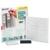 C-Line Self-Adhesive Binder Label Holders