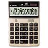 CNM1073B010 HS-1000TG One-Color 10-Digit Desktop Calculator, Tan CNM 1073B010