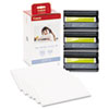 Canon KP-108IN Color Ink Ribbon w/Glossy 4 x 6 Photo Paper Pack, 108 Sheets