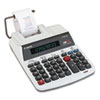 Canon P160DH Two-Color Roller Printing Calculator, 12-Digit Fluorescent, Black/Red