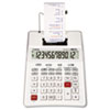 CNMP23DHVG P23-DHVG 12-Digit Two-Color Printing Calculator, White CNM P23DHVG