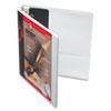 CRD10300 Recycled ClearVue EasyOpen Vinyl D-Ring Presentation Binder, 1