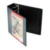CRD10331 Recycled ClearVue EasyOpen Vinyl D-Ring Presentation Binder, 3
