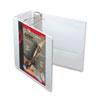 CRD10350 Recycled ClearVue EasyOpen Vinyl D-Ring Presentation Binder, 5