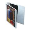 CRD10400 ClearVue Premium Slant-D Vinyl Presentation Binder, 1-1/2