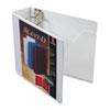 CRD10600 ClearVue Premium Slant-D Vinyl Presentation Binder, 3