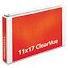 CRD22132 ClearVue Slant-D Ring Binder, 2