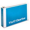 CRD22142 ClearVue Slant-D Ring Binder, 3
