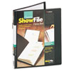 Cardinal ShowFile Presentation Book with Custom Cover Pocket