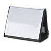 CRD52132 ShowFile Horizontal Display Easel, 20 Letter-Size Sleeves, Black CRD 52132