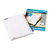 CRD60828 Traditional OneStep Index System, 8-Tab, 1-8, Letter, Assorted, 6 Sets CRD 60828