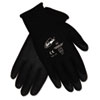 CRWN9699L Ninja HPT PVC coated Nylon Gloves, Large, Black CRW N9699L