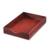 CVR07223 Hardwood Legal Stackable Desk Tray, Mahogany CVR 07223