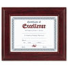 DAX Executive Mahogany Document Frame