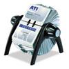 Durable VISIFIX Flip Rotary Business Card File
