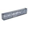 deflect-o Tilt Bin Horizontal Interlocking Storage System