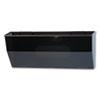DEF50102 Oversized Magnetic Wall File Pocket, Legal/Letter, Smoke DEF 50102