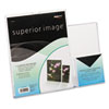 deflect-o Superior Image Slanted Sign Holder with Pocket