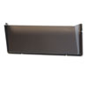 DEF64302 Unbreakable Docupocket Single Pocket Wall File, Legal, Smoke DEF 64302