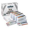 DIX08020 Professional Watercolors, 8 Assorted Colors,Masterpack, 36/Set DIX 08020