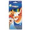 DIX22120 Prang Colored Wood Pencil Set, 3.3 mm, 12 Assorted Colors, 12 Pencils/Set DIX 22120