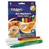 DIX80128 Prang Classic Art Markers, Conical Tip, Eight Colors, 8/Set DIX 80128