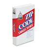 DOM5100 Zip Code Directory, Paperback, 750 Pages DOM 5100