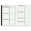 Day-Timer Green Series Wirebound Monthly/Weekly Refill
