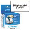 DYM30256 Shipping Labels, 2-5/16 x 4, White, 300/Box DYM 30256