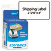 DYM30573 Shipping Labels, 2-1/8 x 4, White, 220/Pack DYM 30573