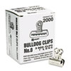 EPI2000 Bulldog Clips, Steel, 5/16