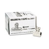 EPI2001 Bulldog Clips, Steel, 7/16