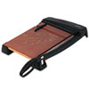 EPI26315 Heavy-Duty Guillotine Paper Trimmer, Wood Base, 12
