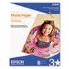 EPSS041271 Glossy Photo Paper, 60 lbs., Glossy, 8-1/2 x 11, 100 Sheets/Pack EPS S041271