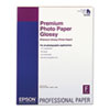 EPSS042092 Premium Photo Paper, 68 lbs., High-Gloss, 17 x 22, 25 Sheets/Pack EPS S042092