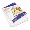 EPSS042183 Premium Photo Paper, 68 lbs., High-Gloss, 8-1/2 x 11, 25 Sheets/Pack EPS S042183