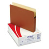 ESS1514COX 1 3/4 Inch Expansion File Pocket, Manila/Red Fiber, Letter, 25/Box ESS 1514COX